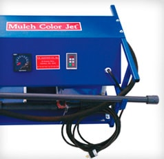 mulch coloring equipment